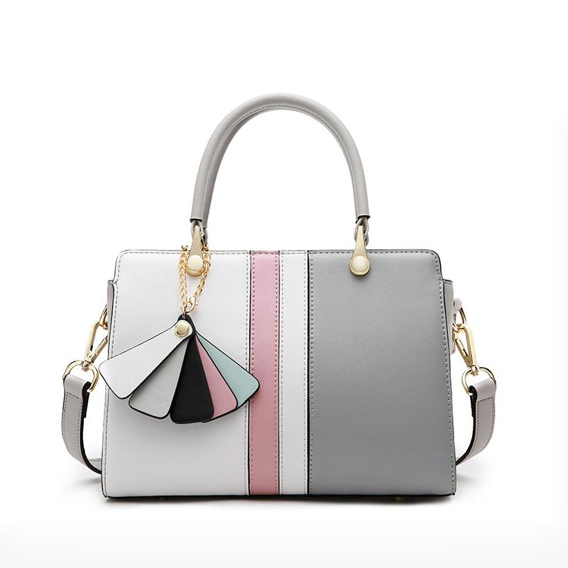 7c39a6773f76 Newest Genuine Leather Handbags Brands Designer Women Shoulder Bags ...
