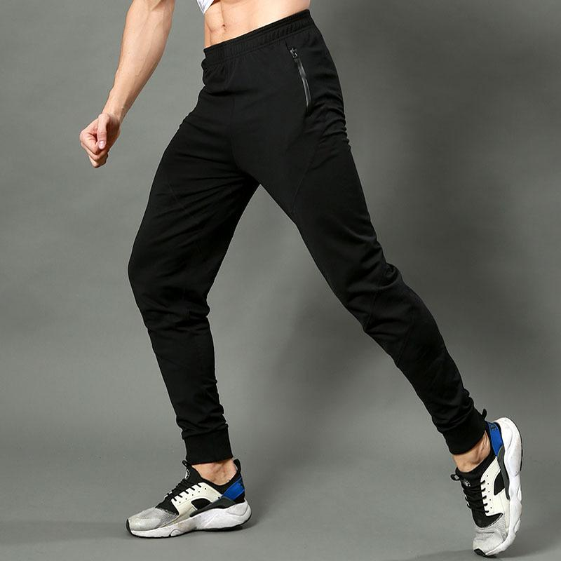 cd6a69ea042271 2019 Men Compression 3/4 Pants Sports Joggers Running Athlete Tights  Basketball Fitness Gym Skinny Leggings Exercise Calf Pants C306 From  Zhongni, ...
