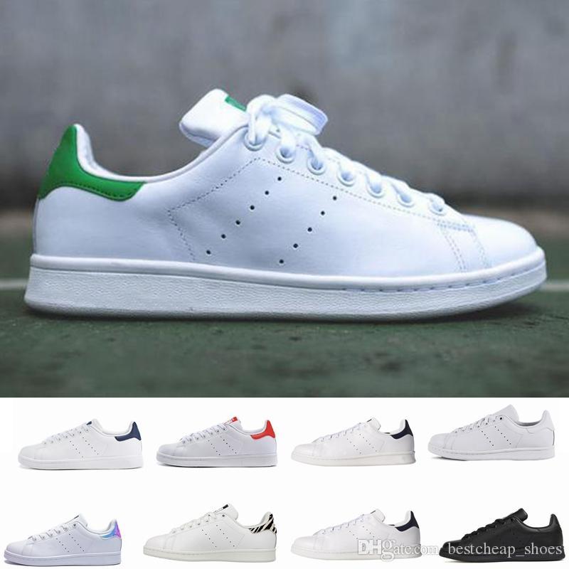 c33c00cf87a Adidas Stan Smith Shoes Diseñador Clásico Zapatos Stan Fashion Smith Marca  De Calidad Superior Para Hombre Para Mujer Entrenadores Zapatillas  Deportivas De ...