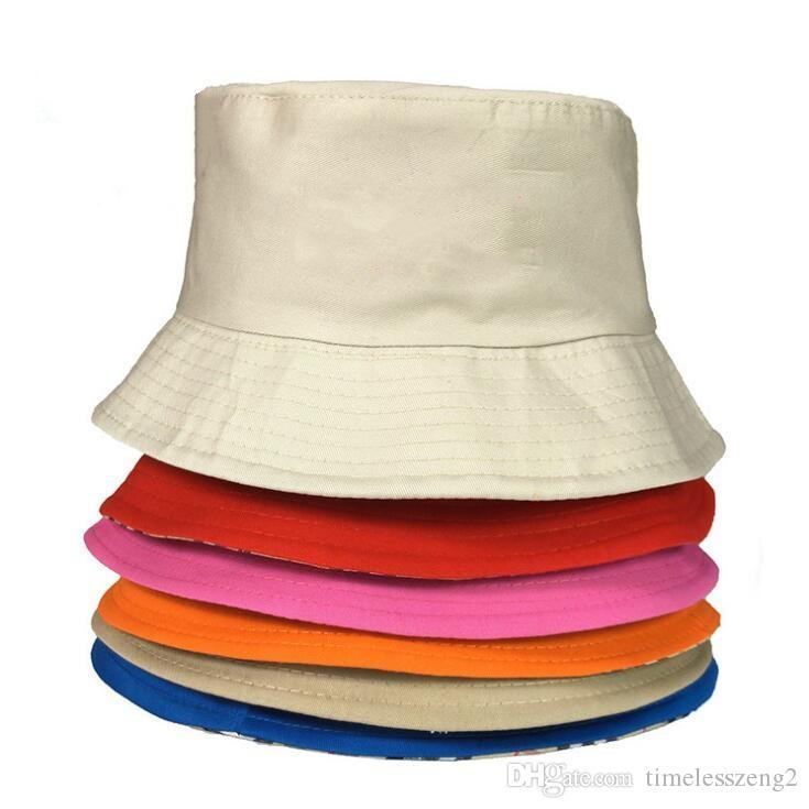 ... Verano Sombreros De Cubo Plegable Sombreros De Algodón De Alta Calidad  Personalizables Sombreros De Ala Adulta Y Niños Tamaño Para Viajar Sol  Sombrero ... 812f286d1dc