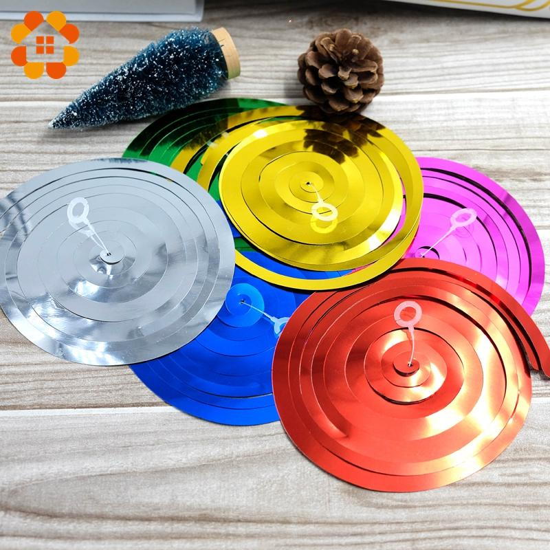 New!/pack Ceiling Hanging Swirl Decoration Metallic For Wedding Christmas Halloween Birthday Party Decoration Baby Shower Boy