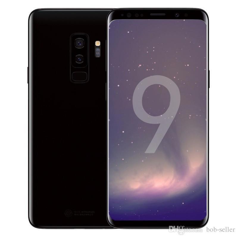ERQIYU goophone S9 S9 plus android 8 0 cell phones unlocked Octa core 4G  RAM 128G ROM shown 4G LTE GPS 3G smartphones