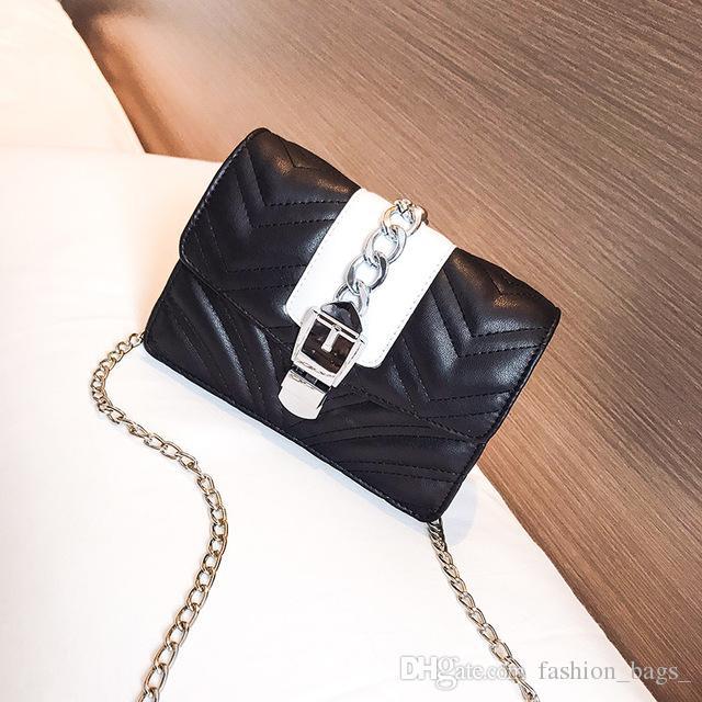 6f81149d65d Hot Sales Black And White Two-tone Handbags Fashion Women Bags Shoulder Bag  Purse Women Chain Messenger Crossbody Bag 2019 for Party Fashion Bag Handbag  ...