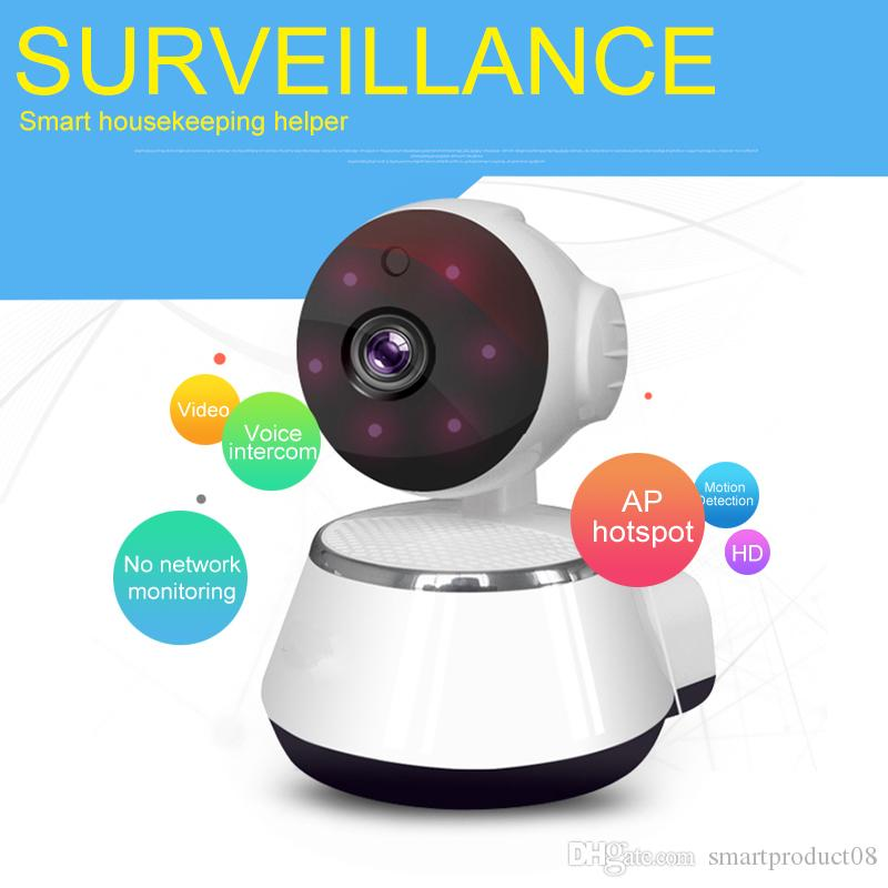 IP Camera Wireless Smart WiFi Camera WI-FI Audio Record Surveillance Baby Monitor HD Mini CCTV Camera V380