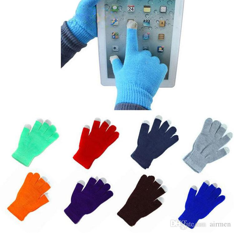 627511d6cf41a 2019 High Quality Knit Wool Touch Gloves For IPhone Touch Screen Gloves For  Iphone X XS MAX XR Galaxy S8 S9 S10 Ipad DHL From Airmen, $0.51   DHgate.Com