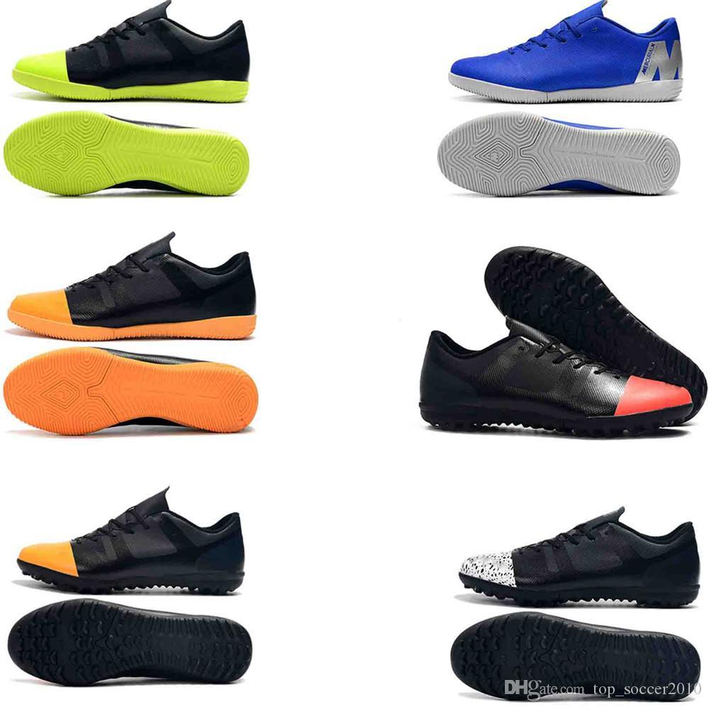 39a7b4b5e 2018 Original Mens Turf Soccer Cleats Indoor Soccer Shoes Low Top ...