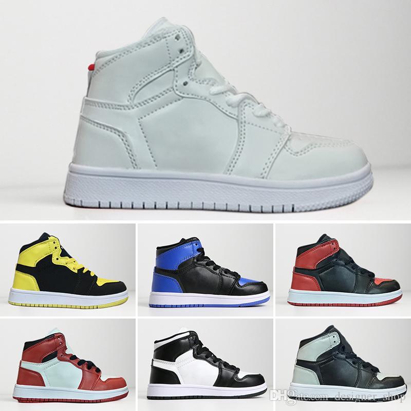Des Qualité 1 Pas De Pour Cher Gros Magasin Gratuite Jordan Nike Air Top Chaussures Basket Retro Enfants Prix Expédition 2DHW9IE
