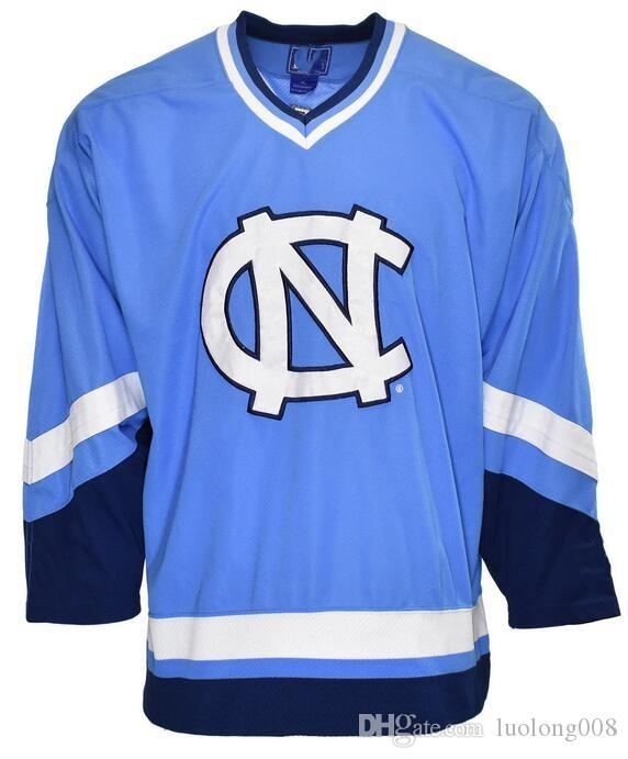 c8b11b4ef Vintage North Carolina Tar Heels 90 s STARTER Sewn NCAA Hockey Jersey  Embroidery Stitched Customize any number and name Jerseys