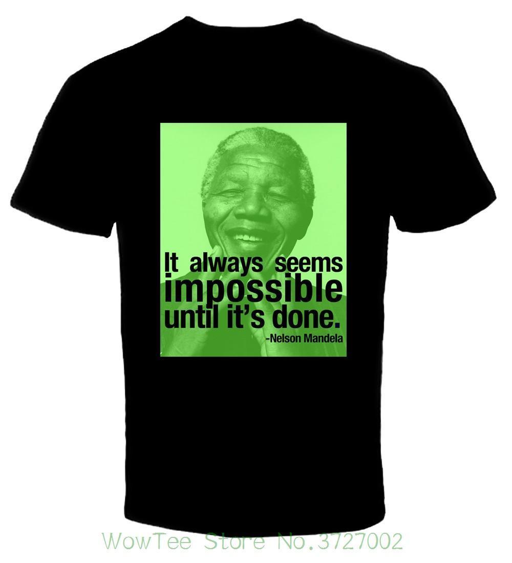 4540f0016 Compre Nelson Mandela 1 Camiseta Tamanho S 6xl Frete Grátis Mais Novo 2018 Moda  Masculina De Jie034, $14.67   Pt.Dhgate.Com