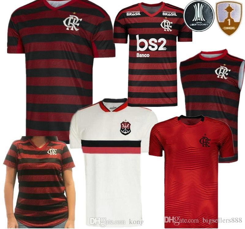 0a55eb4cfd5 2019 19 20 Flamengo Man Woman Kid Kit Jersey 2019 2020 Flemish GUERRERO  DIEGO VINICIUS JR Soccer Jerseys Brazil Flamengo Sports Football Shirt From  ...