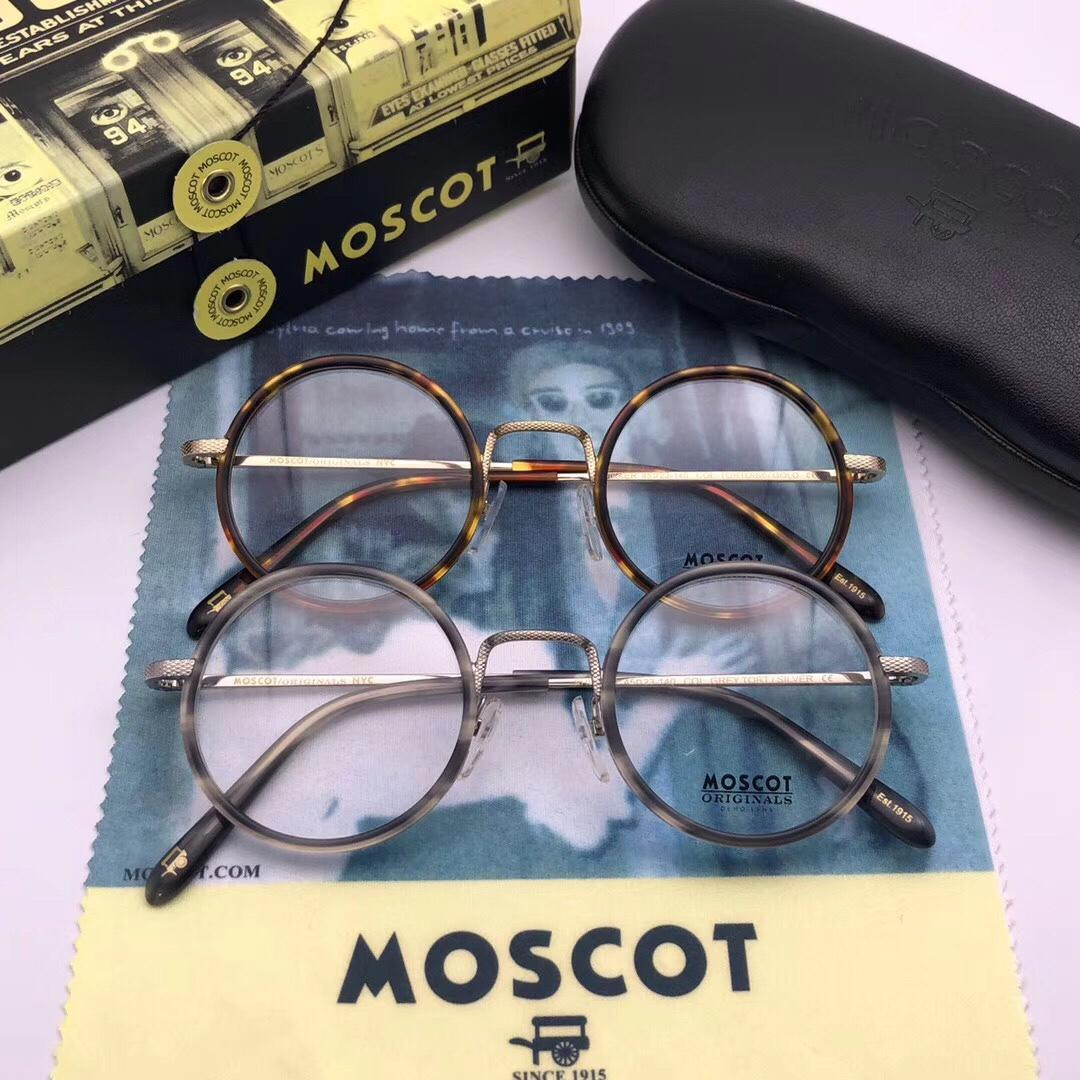 4cad51b4e1f Brand Design -2018 New Moscot Shikker Fashion High Quality Round ...