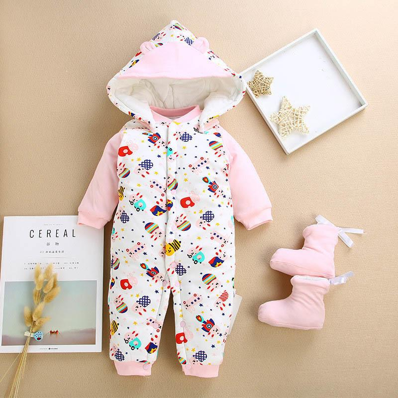 b6f83a6a8 good quality Baby Clothes Winter Newborn Baby Rompers 2019 New  Cotton-padded Baby Boys Girls Jumpsuits Cartoon Infant Overalls