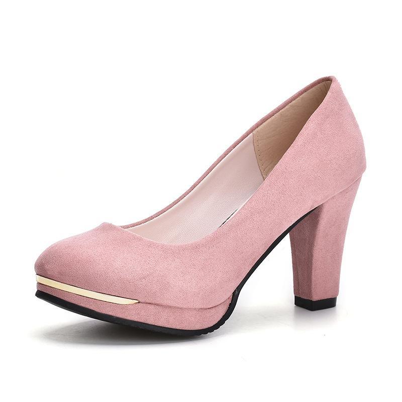 44f8a7ce9 Compre 2019 Vestido 2018 Hot New Toe Plataforma Mulheres Bombas 9 Cm Sexy  Extremamente Sapatos De Salto Alto Vestido Vermelho Bombas De Casamento  Mulher De ...