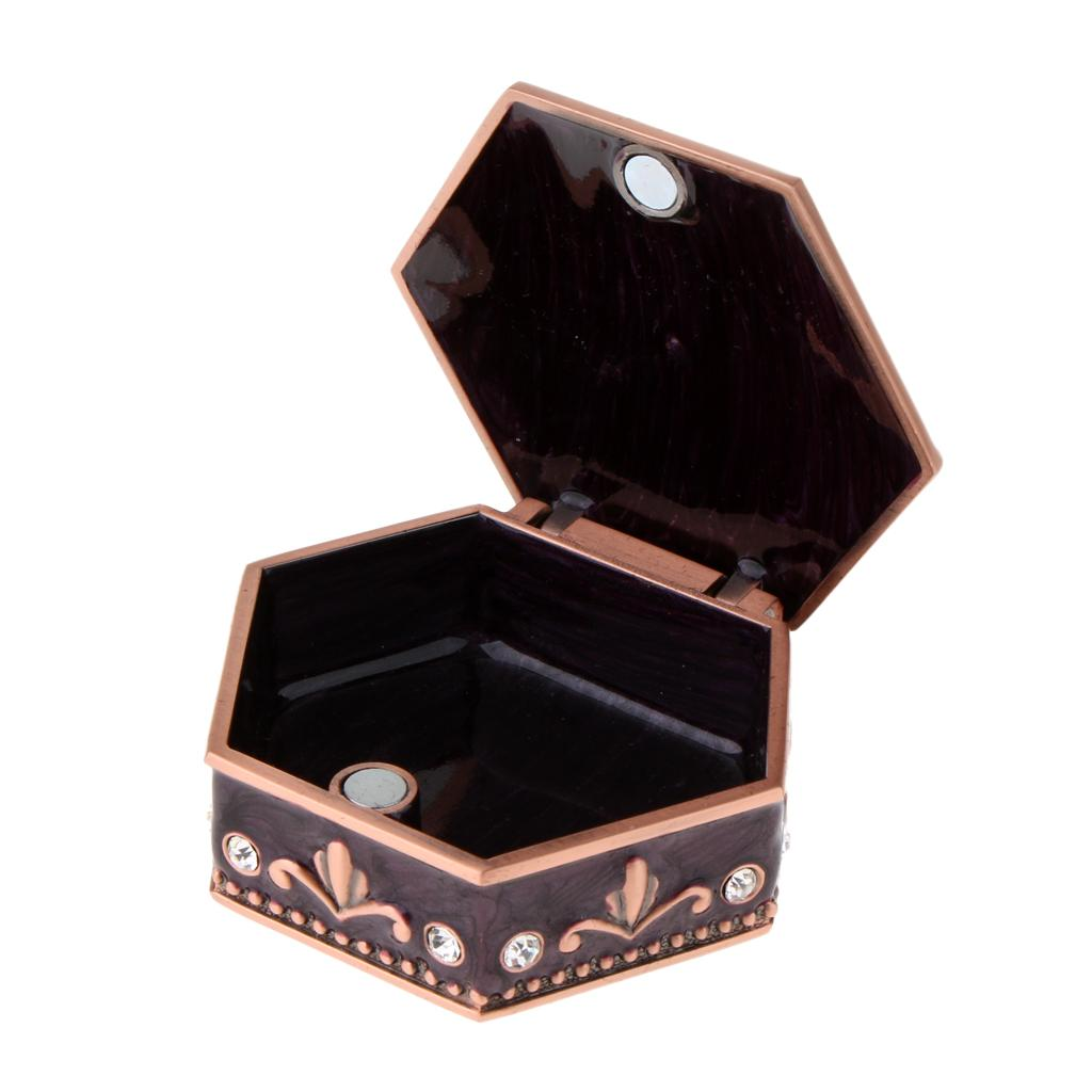 719c4d2bf 2019 Zinc Alloy Vintage Jewelry Organizer Storage Box Necklace Bracelet  Rings Earrings Jewelry Showcase For Women Girls Gifts From Mantous, $23.93  | DHgate.