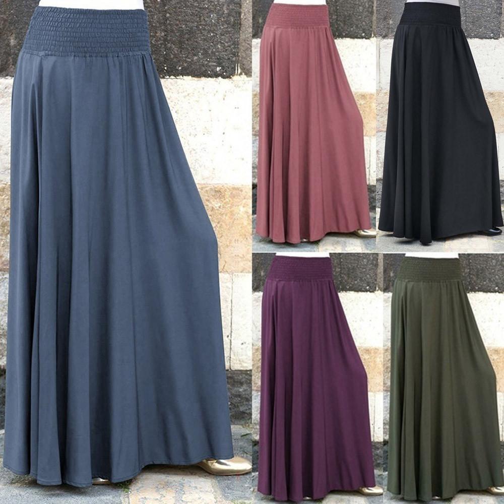 421bb44560ea Solid Long Skirts - raveitsafe