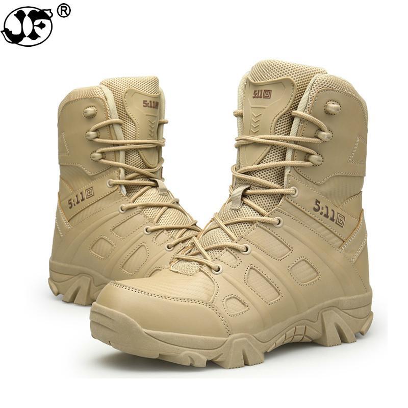 Outdoor Stiefel Männer Military Wüste Taktische Stiefel Atmungsaktiv Hohe Stiefel Mode Sexy Vintage Wasserdicht Männer Stiefel Leder Schuhe Home