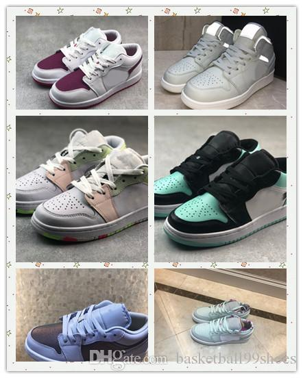 women 1 layer low purple line Mint Green 1 Basketball shoes Homage To Home Royal Blue women Sport Designer Sneakers Trai