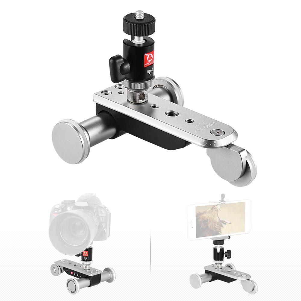 Freeshipping 3-Wheel Auto Dolly 5 Speeds Motorized Video Car Slider Skater for Smartphone Action Camera Canon Nikon Sony A7