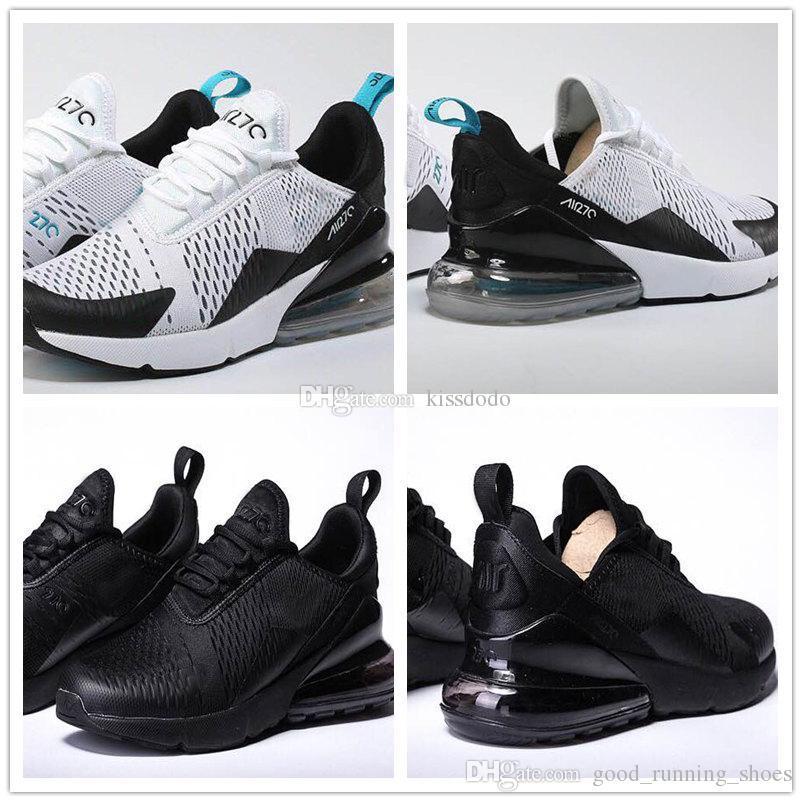 Nueva llegada 2018 hombres mujeres zapatillas de deporte de la mejor calidad 270 zapatillas de aire exterior Cojín de diseño zapatos maxes precio