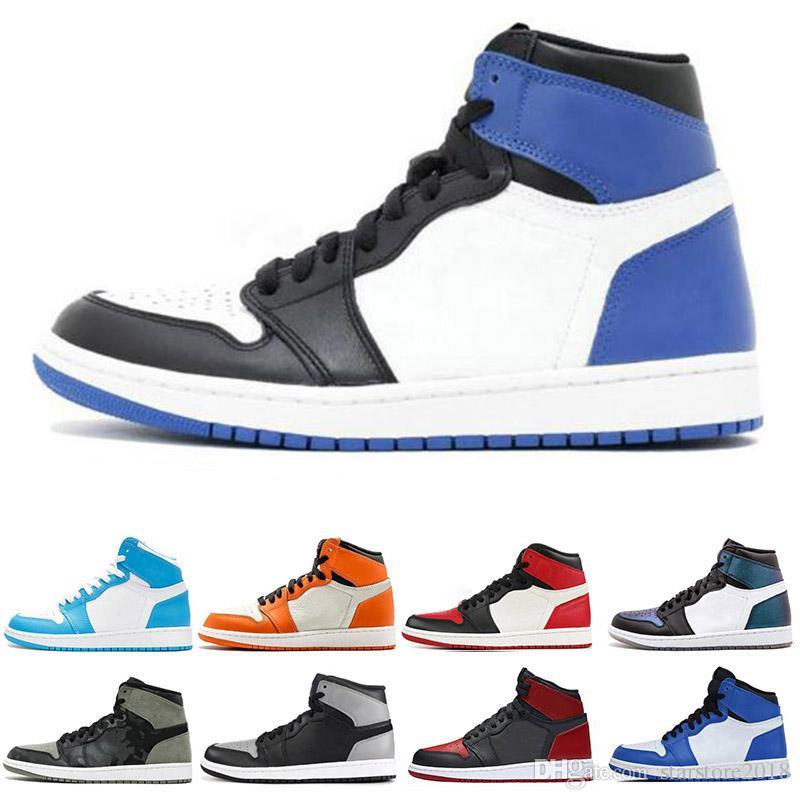 size 40 ce43a 2f07f Acheter Nike Air Jordan 1 1s Chaussure De Basket Ball De Style Classique 1  1s Pour Hommes Fragment New Love Black Toe Gold 3 De  81.73 Du  Starstore2018 ...