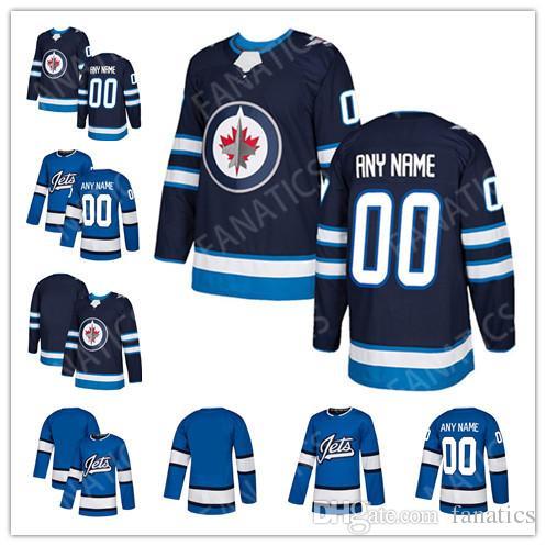 bbaf409d3723b 2019 2018 Mens Womens Kids Youth Custom Blank Winnipeg Jets 55 Mark  Scheifele 26 Blake Wheeler 33 Dustin Byfuglien 29 Patrik Laine Hockey  Jerseys From ...