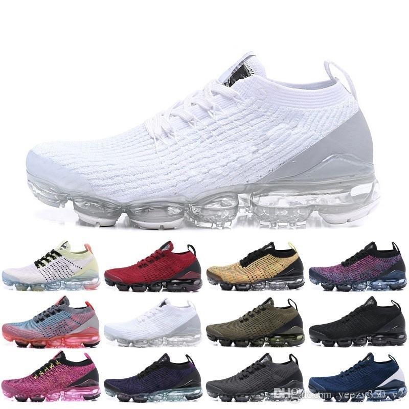 2019 Fly 2.0 3.0 Zapatos para correr Mango Crimson Pulse Be True Hombres Diseñadores para mujer Zapatos ocasionales deportivos Tamaño Eur 36 45