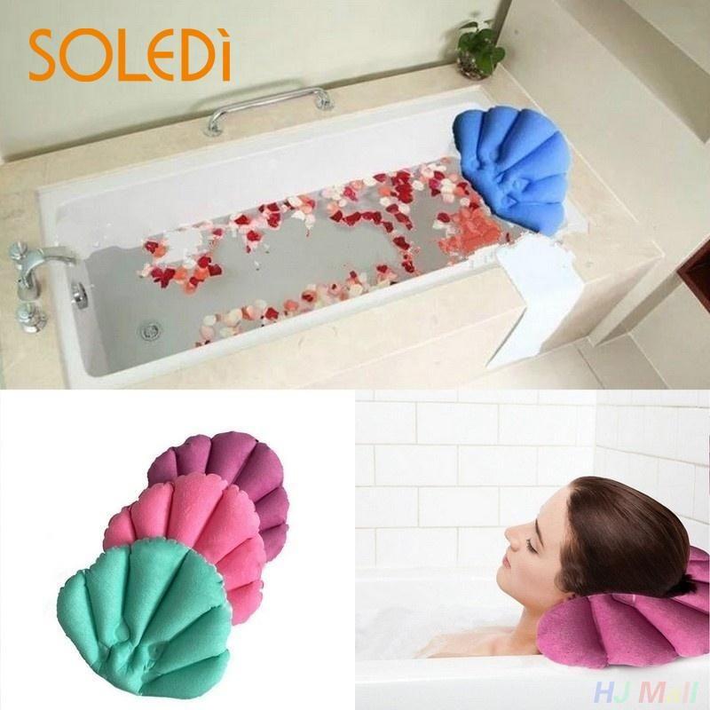 2019 2019 Soft Bathroom Pillow Home Comfortable Spa Inflatable Bath