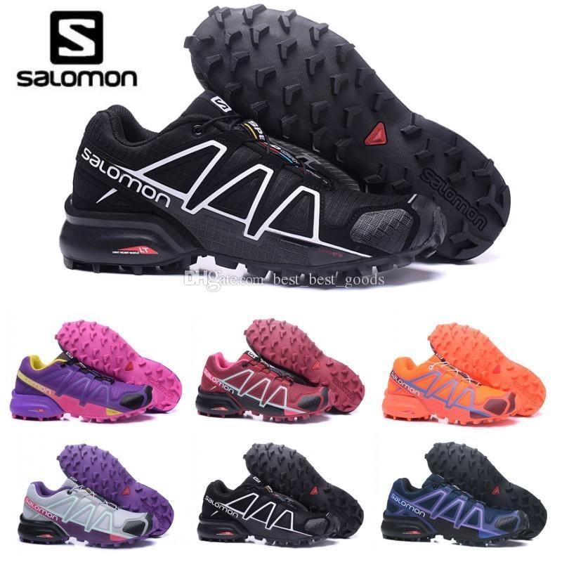more photos 28654 d1037 2019 Salomon Schuhe zapatos hombre Turnschuhe Frauen Geschwindigkeit Cross  4 CS III sapato masculino Salomon Speedcross Sport Laufschuhe 36-42