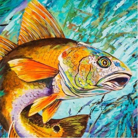 "Full Square/Round Drill 5D DIY Diamond Painting kits ""fish"" cross stitch Mosaic Home Decor crafts Art Experience toys Gift A0761"