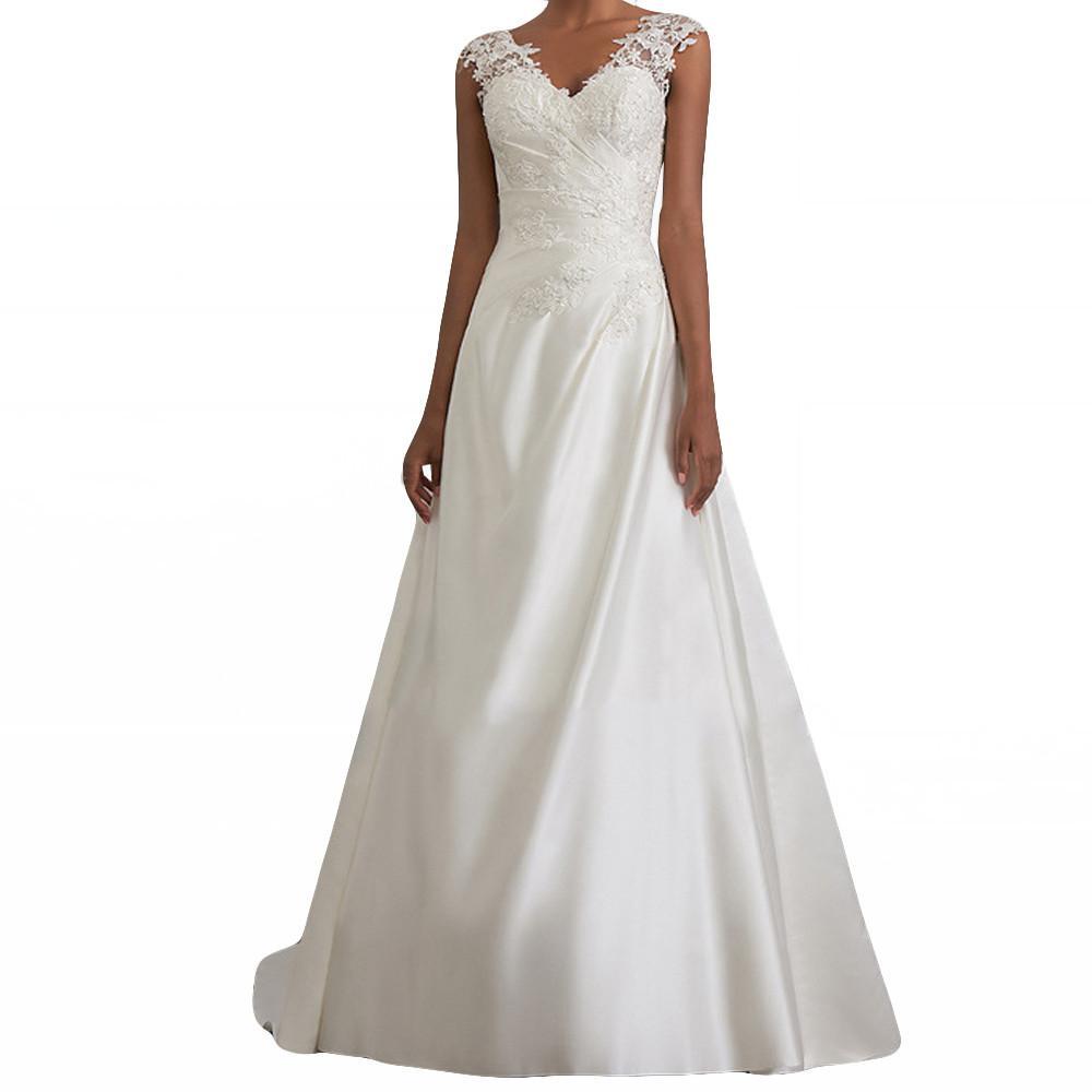 c0bddafb22cf85 White Dress Women Elegant Lace Long Maxi Dress Luxury Sexy Sleeveless Party  Ladie Dresses 2019 Dames Jurken Vestidos Robe Femme Dress For Ladies Dress  Usa ...
