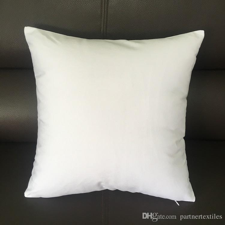 Fantastic 20X20 Inches White Canvas Pillow Case 100 Cotton Blank White Pillow Cover Bleached White Throw Cushion Cover For Diy Paint Uwap Interior Chair Design Uwaporg