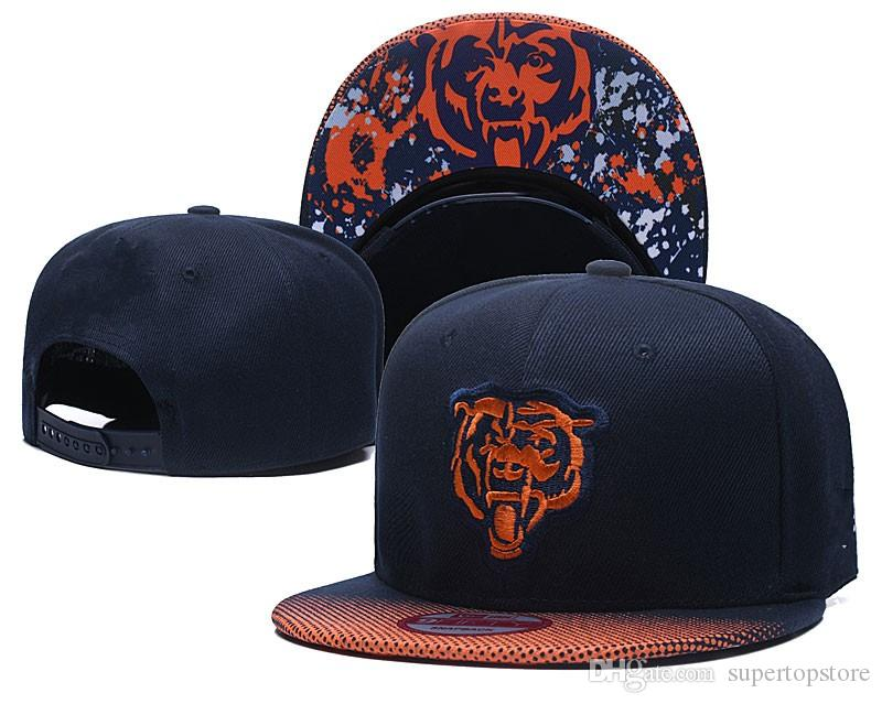 2019 Top Fashion Men Women Sports Hat Embroidered Letter Chicago BEAR  Gradient Visor Sun Baseball Cap Snapback Fit Hip Hop Adjustable Hats From  ... 9cb645e4ba