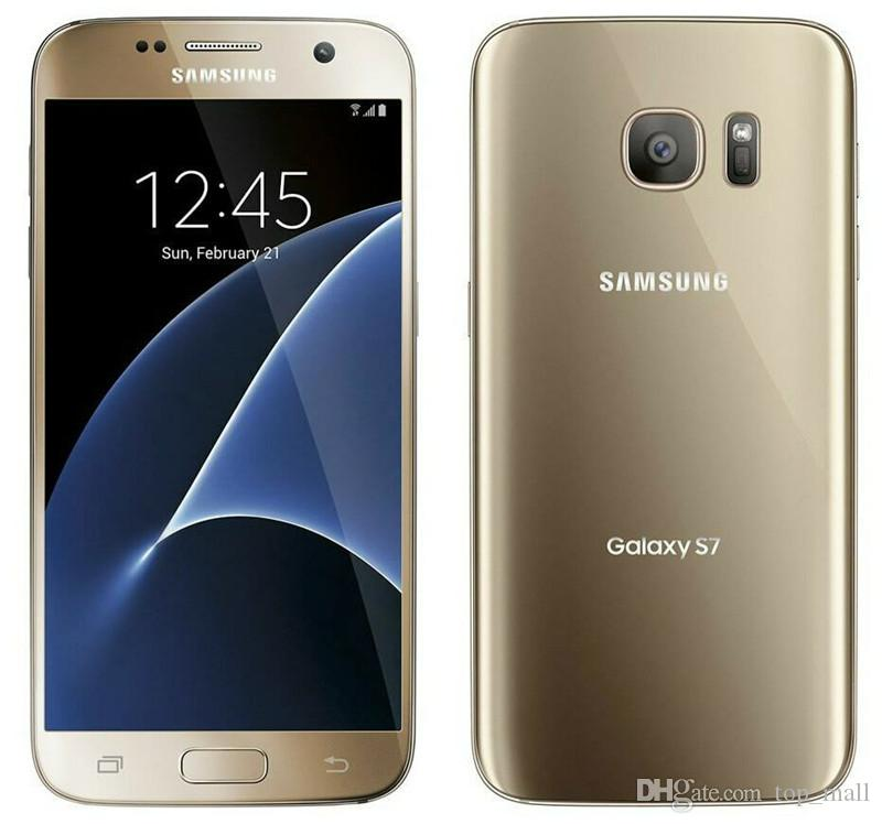 Original Unlocked Samsung Galaxy S7 G930F Mobile Phone Android 5 1