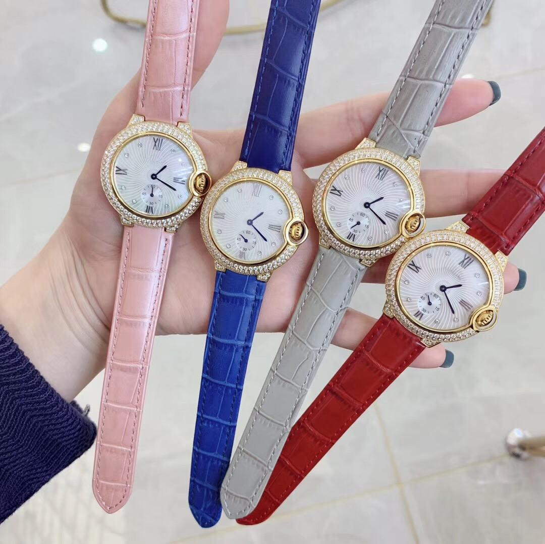 The latest minimalist fashion diamond fashion ladies watches stainless steel 26mm 11mm watches 6 colors bulk drop shipments