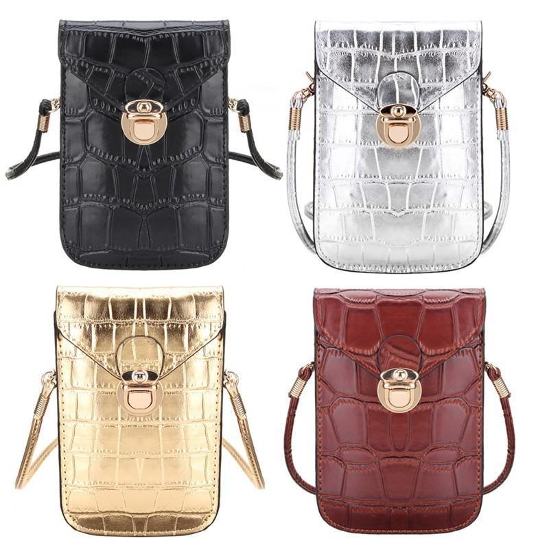 Cheap Fashion Osmond Silver Mobile Phone Mini Bags Small Clutches Shoulder  Bag Crocodile Leather Women Handbags Black Clutch Purse Handbag Womens  Handbags ... 5c7916a617