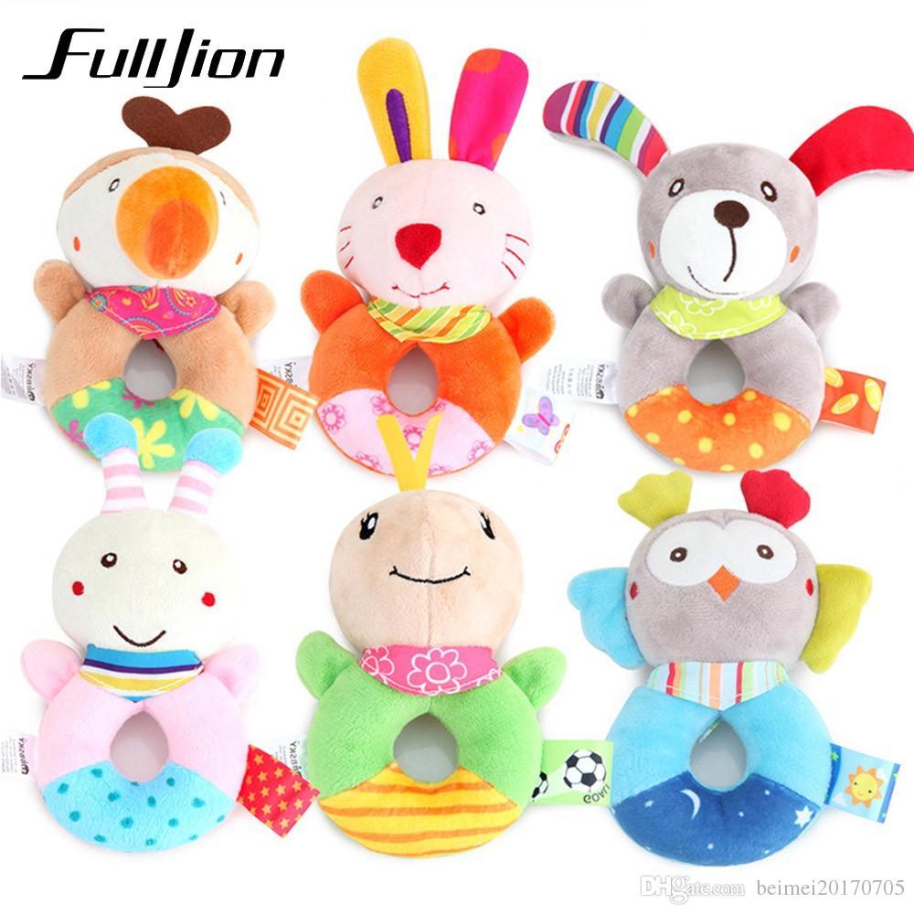 09a9e87dc Compre Fulljion Bebê Chocalhos Mobiles Brinquedos Da Criança Bebe Infantil  Cama Sinos Carrinho De Criança Bonito Bonecas Musicais Brinquedos Educativos  Para ...