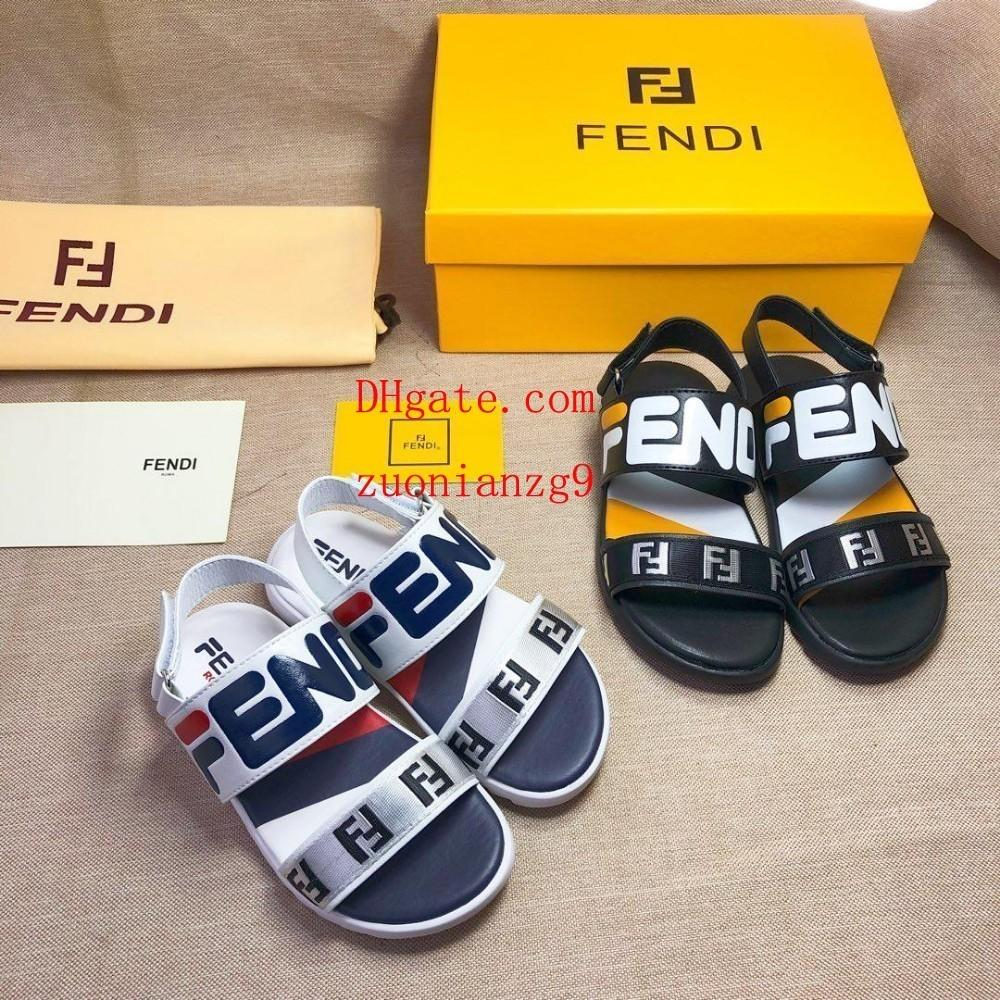 6cd8d760a Kids Sneakers Sandals Cute Cartoon Letter Print Fashion Toddler Shoes Boy  Girl Rubber Summer Sole Non Slip Beach Slide Sandal Ni K5 Buy Kid Shoes  Online ...