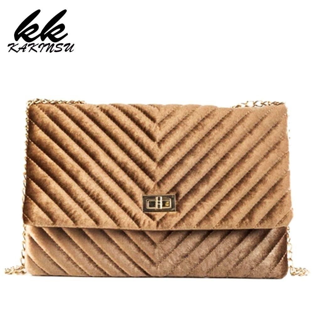 3c29282e3d 2019 Retro Fashion New Women'S Designer Handbag Quality Velvet Clutch Women  Bag Dinner Party Bag Chain Shoulder Messenger Bags Designer Purses Satchel  Bags ...