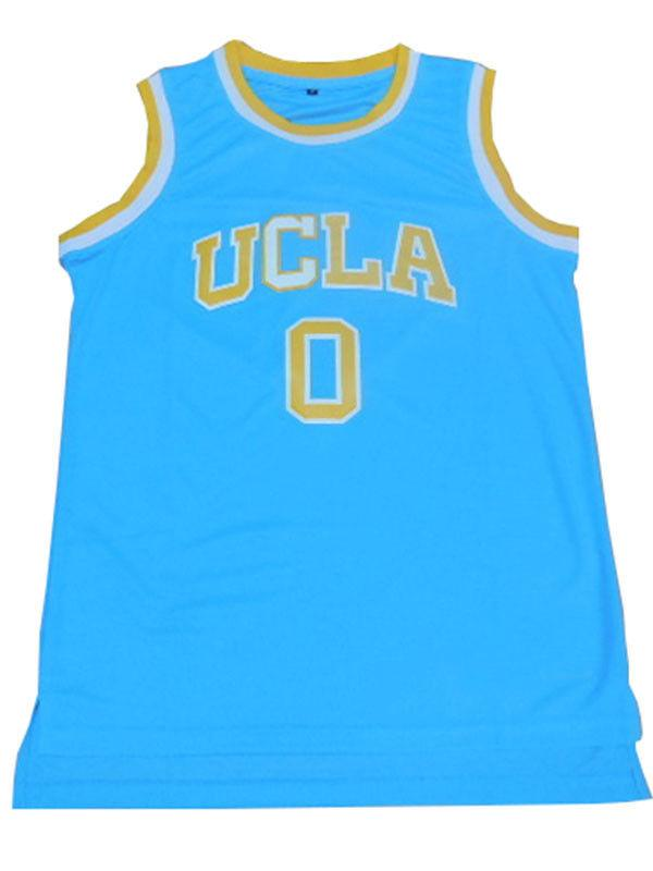wholesale dealer 0b107 230b0 Cheap wholesale Russell Westbrook 0 UCLA Bruins College Sewn Customize any  name number MEN WOMEN YOUTH basketball jersey