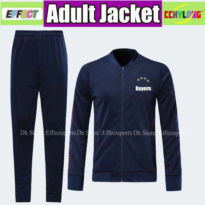 ad8ab5949f1 2019 Bayern Munich 19 20 Jacket Full Zipper Kit Long Pants Soccer ...