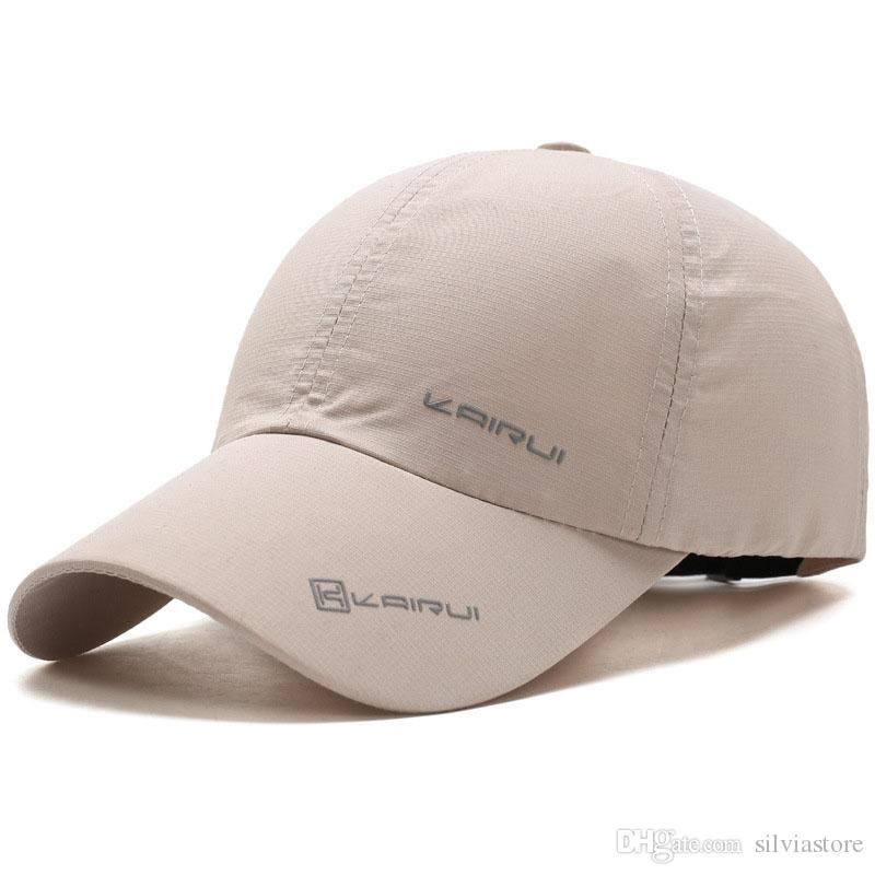 c54de564cba Men Baseball Hat Outdoor Fashion Sport Breathable Male Caps Stylish Fisher Sun  Protection Adjustable Hip Hop Snapback Cap Hats Baseball Caps Custom Hats  ...