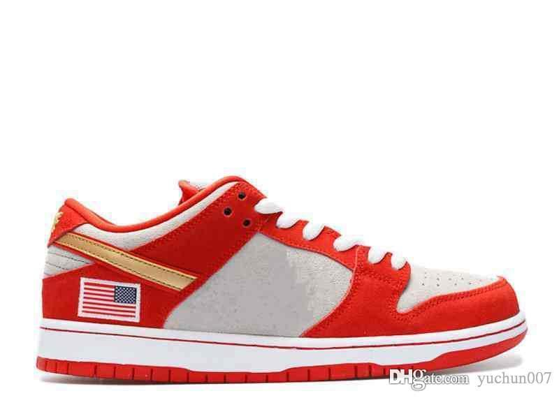 new style 65304 f0859 Dunk SB Low Pro QS PARIS Men Women Running Shoes What The Dunk White Widow  Roswell Raygun DECON TRD Denim Skateboarding Shoes
