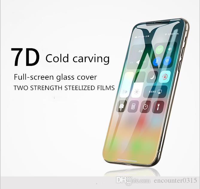 7d Full Screen Apple X Xs Max Steel Film 8plus Mobile Phone Film Applicable To Iphone X Xs Max Steel Film