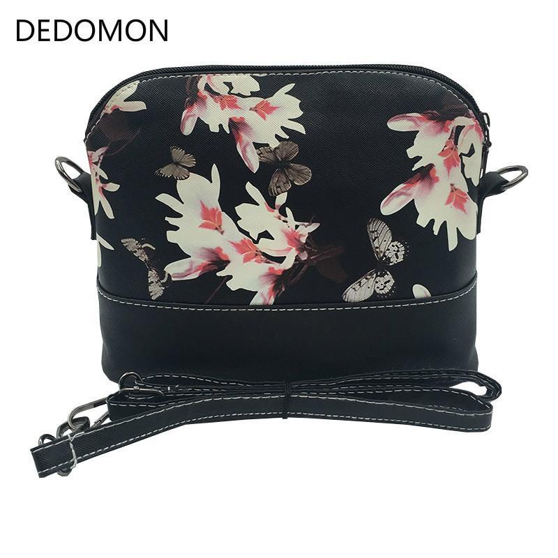 e1682d4d83c34 Günstige Luxus Handtaschen Frauen Taschen Leder Designer 2018 Messenger  Schulter Crossbody Taschen Für Frauen Tasche Mit Schmetterling Libelle  Floral