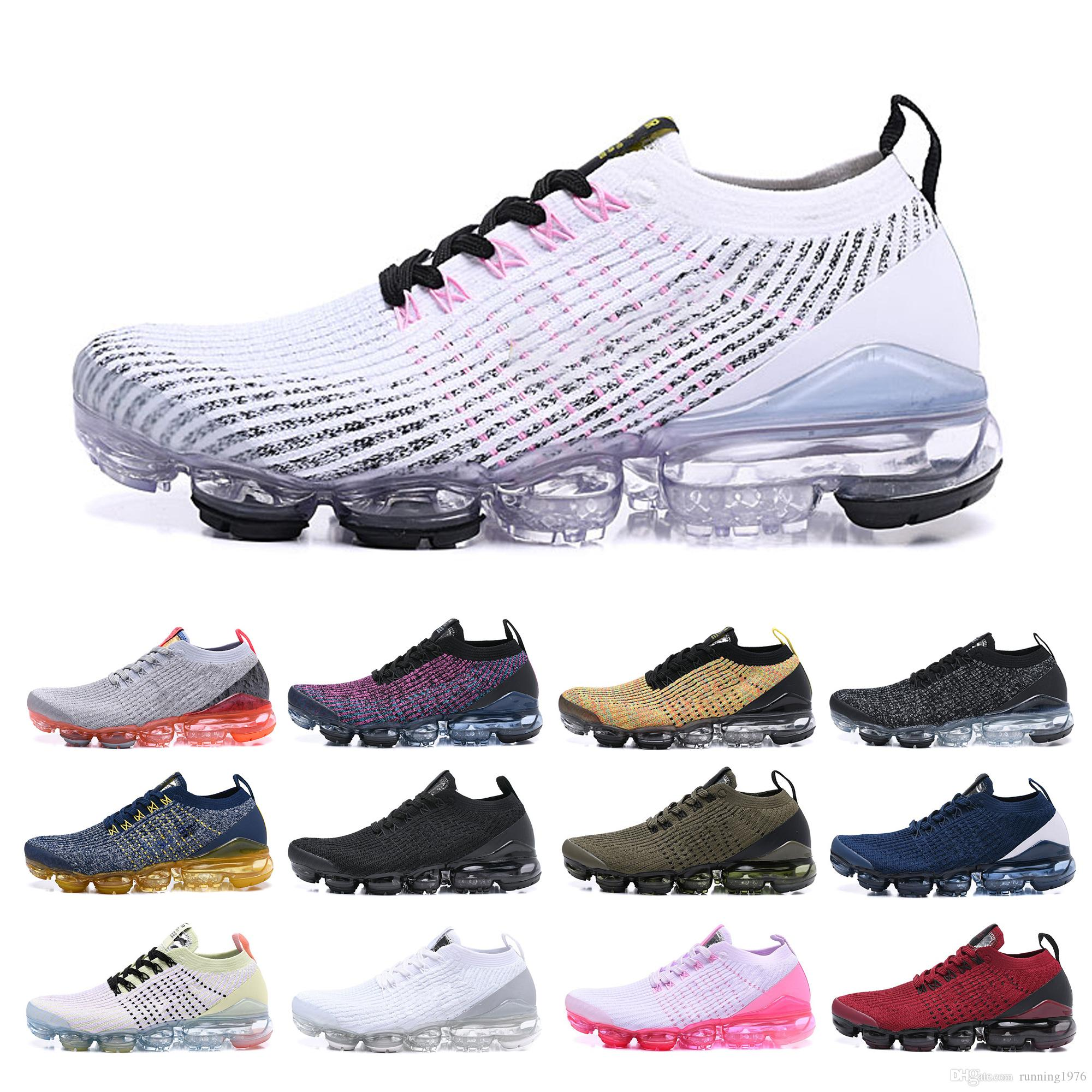 Air Cushion PU Soft Sole Mens Outdoor Casual Running Athletic Sneakers Fashion
