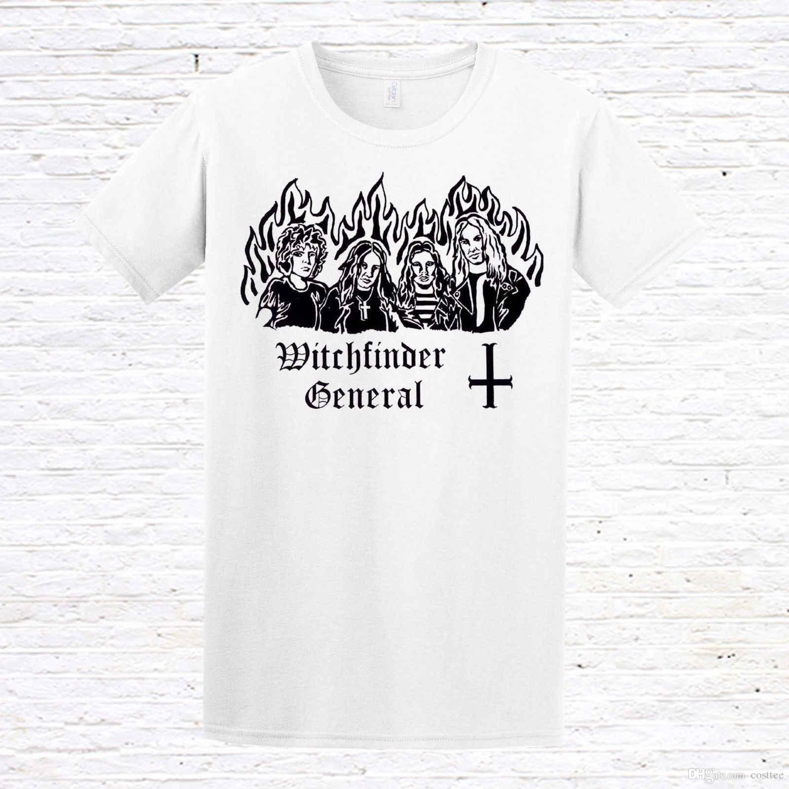 Witchfinder Shirts And Nwobhmdoommetal General Shirt T OTPZkXui