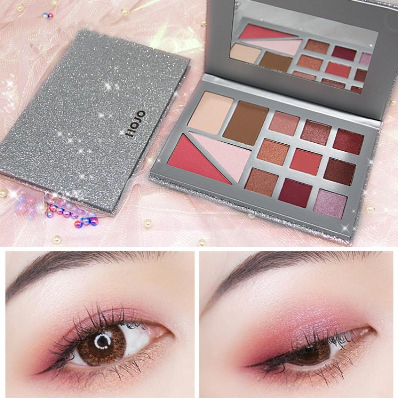 Hot High-light Make up face repair capacity blush eye shadow combination make-up Plate