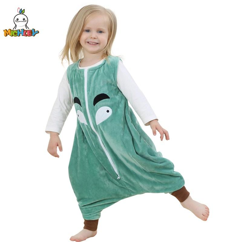 MICHLEY Kids Blanket Sleepers Baby Jumpsuits Girl Cartoon Kigurumi Clothes  Children Flannel Pajamas Kids Sleeping Bag SB SP003 Baby Girl Christmas  Pajamas ... 346bd30c7
