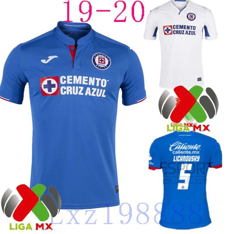 4200237d8e8 2019 NEW 2019 2020 Mexico Club Jersey Cruz Azul Liga MX Soccer Jerseys 1920  Home Blue Away White Football Shirts Camisetas De Futbol From Lxz198888