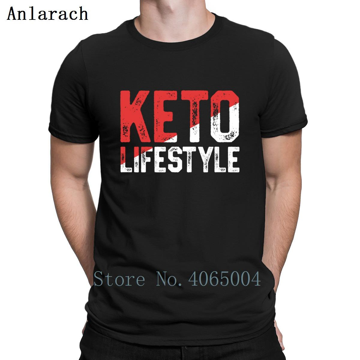 Fueled By Keto Funny Keto For Women Ketosis T Shirt Summer Style Vintage Size S-3xl Pattern Interesting Cotton Knitted Shirt